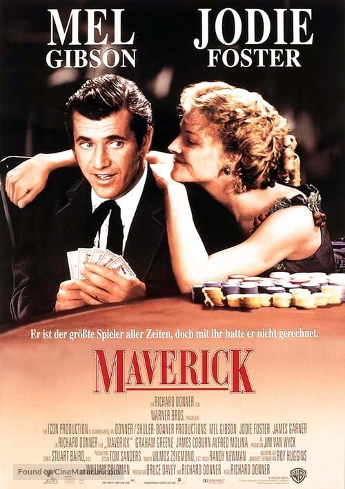 Maverick - German Movie Poster