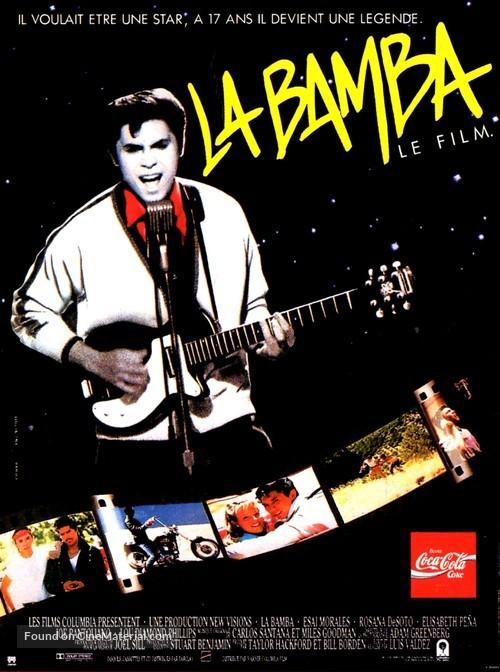 La Bamba - French Movie Poster