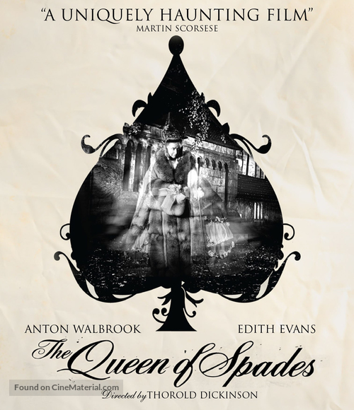 The Queen of Spades - Blu-Ray movie cover