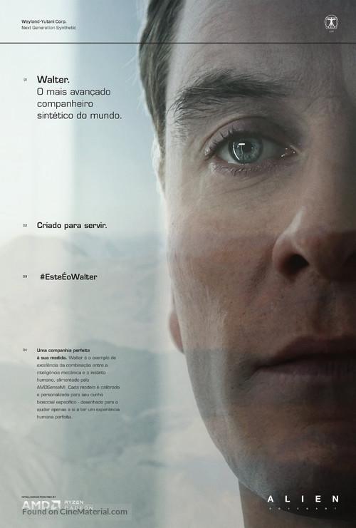 Alien: Covenant - Portuguese Movie Poster