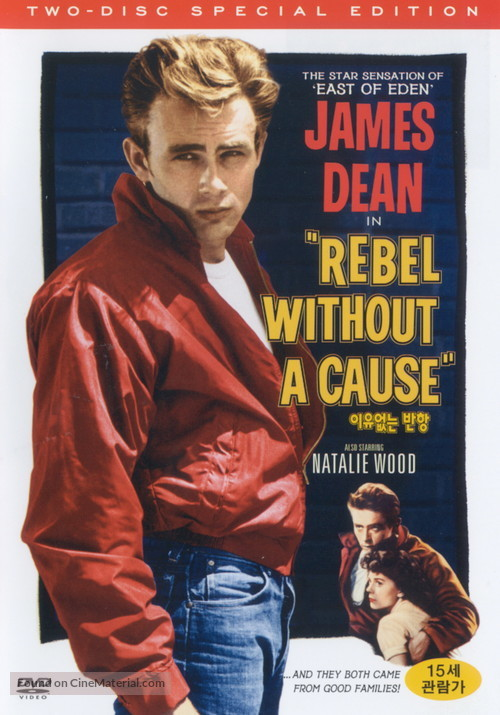 Rebel Without a Cause - South Korean DVD movie cover