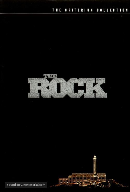 The Rock - DVD movie cover
