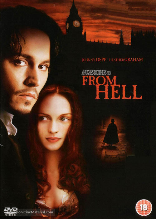 From Hell - British DVD movie cover