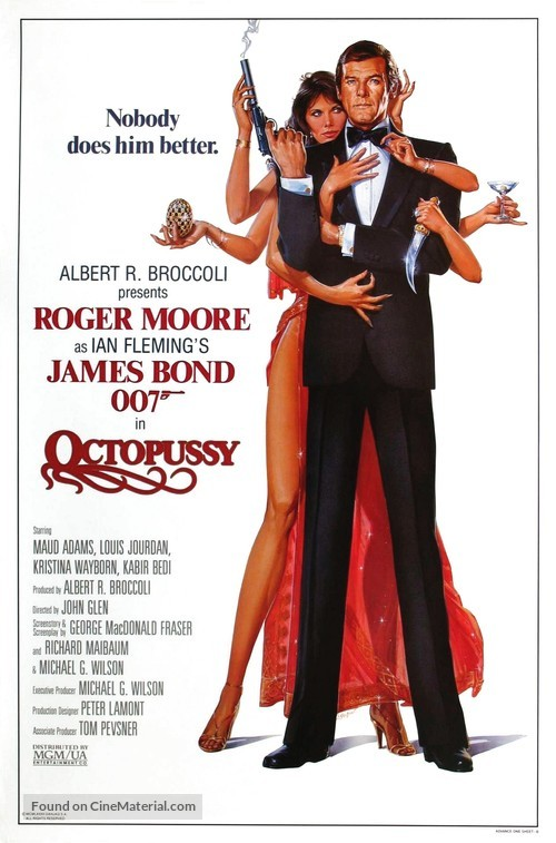 Octopussy - Advance movie poster