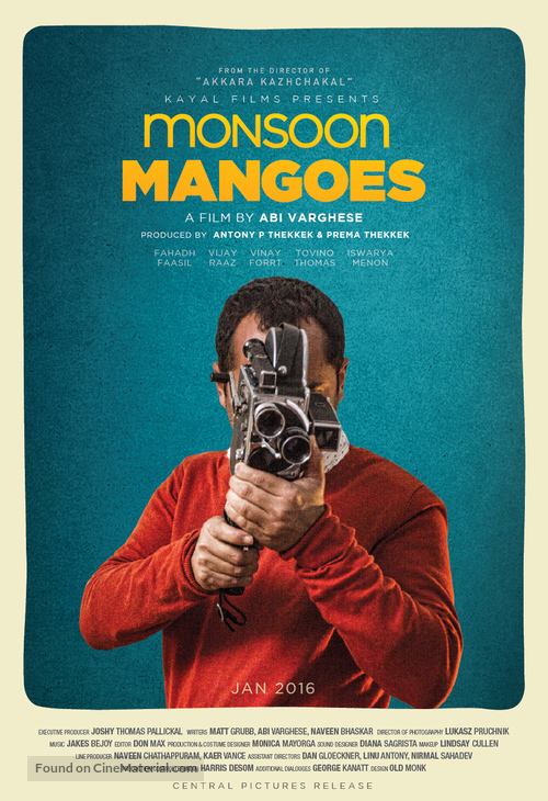 Monsoon Mangoes - Indian Movie Poster