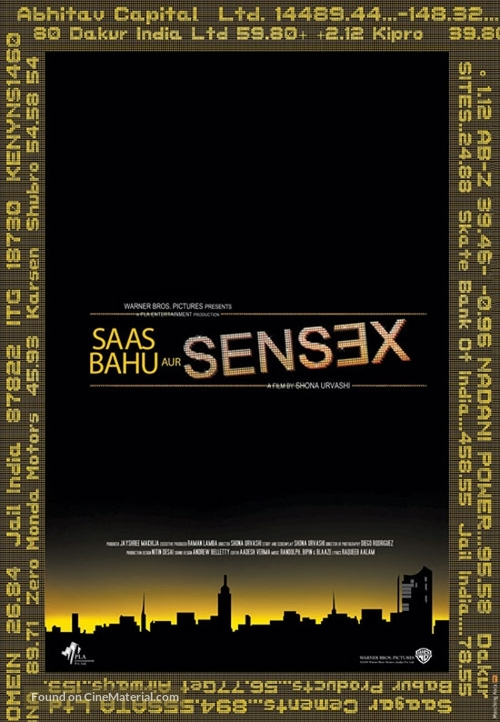 Saas bahu aur Sensex - Indian Movie Poster