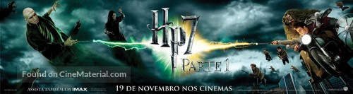 Harry Potter and the Deathly Hallows: Part I - Brazilian Movie Poster