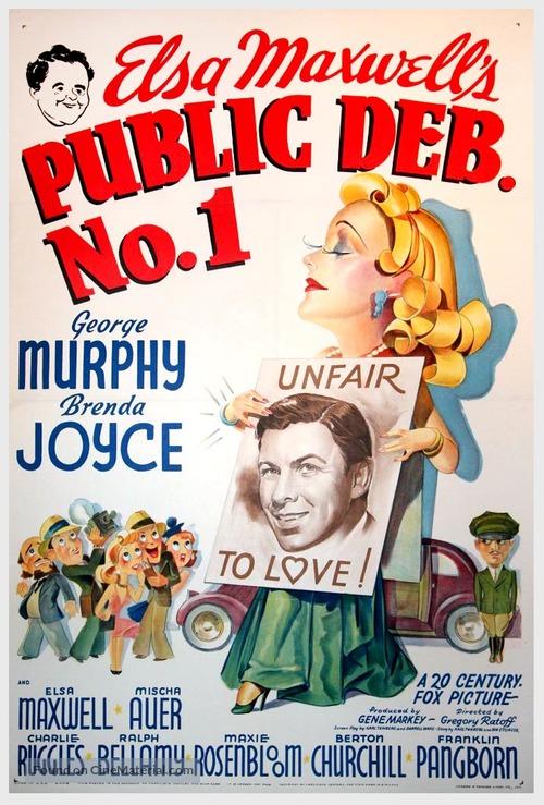 Public Deb No. 1 - Movie Poster