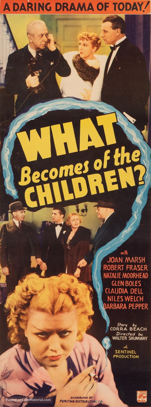 What Becomes of the Children? - Movie Poster