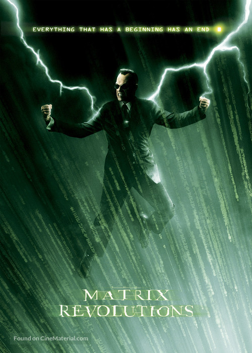 The Matrix Revolutions - poster