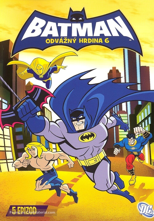 """Batman: The Brave and the Bold"" - Czech DVD movie cover"