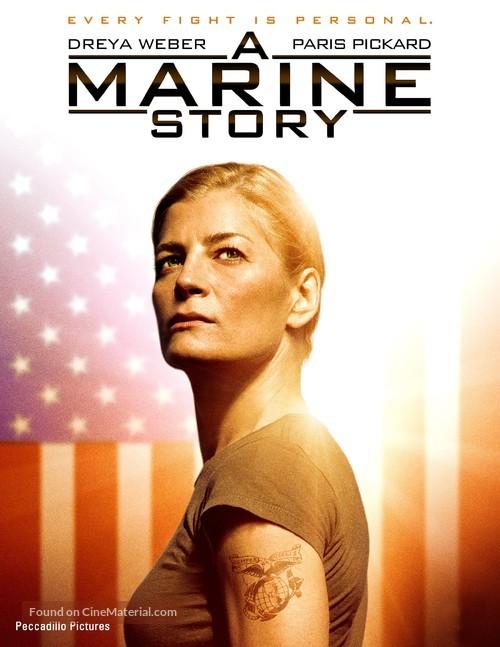A Marine Story - British DVD movie cover
