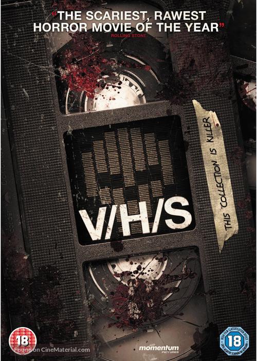V/H/S - British DVD cover
