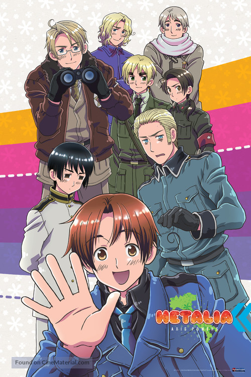 """Hetalia: Axis Powers"" - Movie Poster"