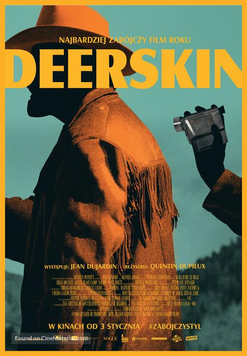 Le daim - Polish Movie Poster