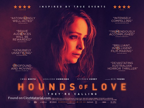 Hounds of Love - British Movie Poster