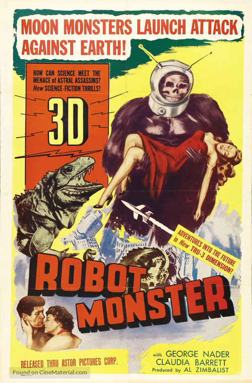 Robot Monster - Theatrical movie poster
