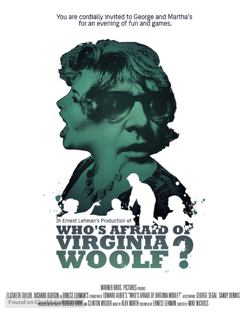 Who's Afraid of Virginia Woolf? - Movie Poster