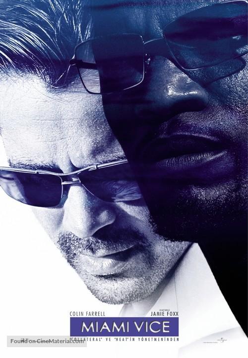 Miami Vice - Turkish Movie Poster