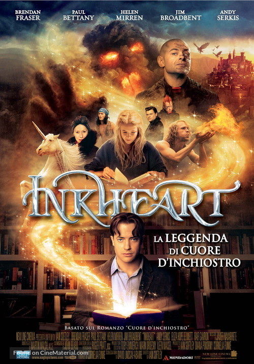 Inkheart - Italian Movie Poster