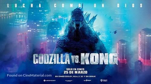 Godzilla vs. Kong - Spanish Movie Poster