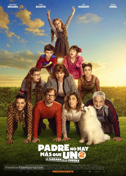 Padre no hay más que uno 2 - Spanish Movie Poster
