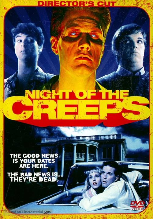 Night of the Creeps - Movie Cover