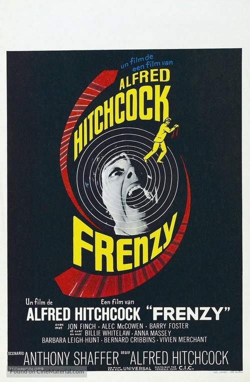 Frenzy - Belgian Movie Poster