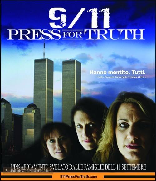 9/11: Press for Truth - Italian Movie Poster