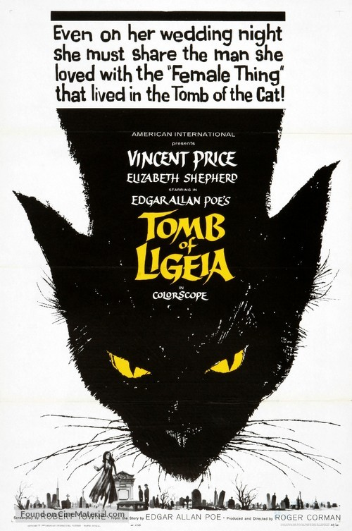 The Tomb of Ligeia - Movie Poster
