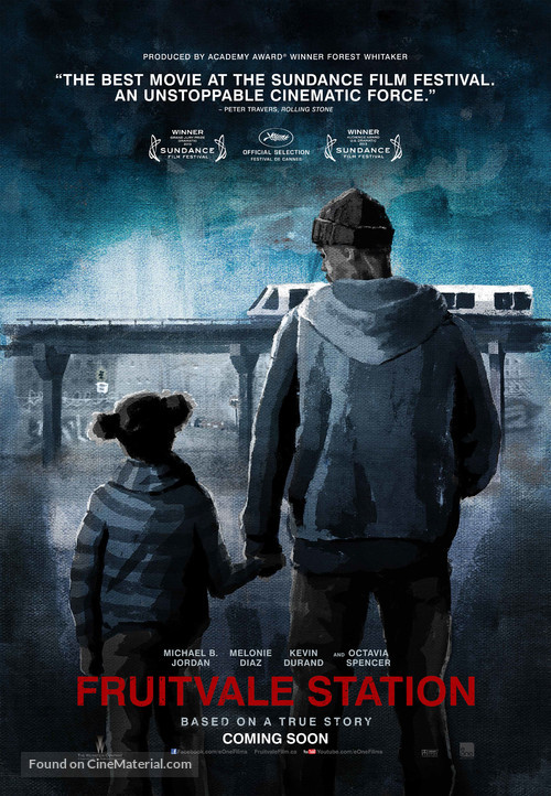 Fruitvale Station - Canadian Movie Poster