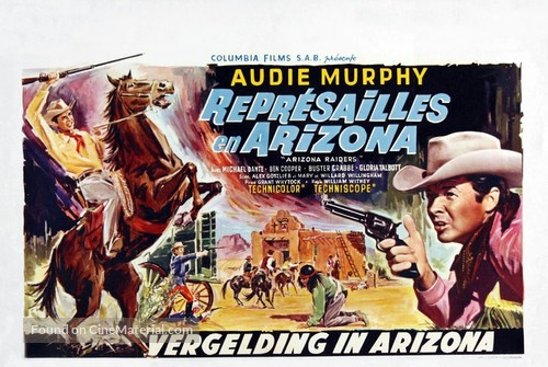 Arizona Raiders - Belgian Movie Poster