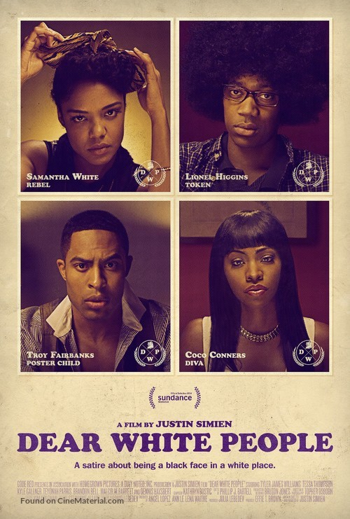 Dear White People - Movie Poster