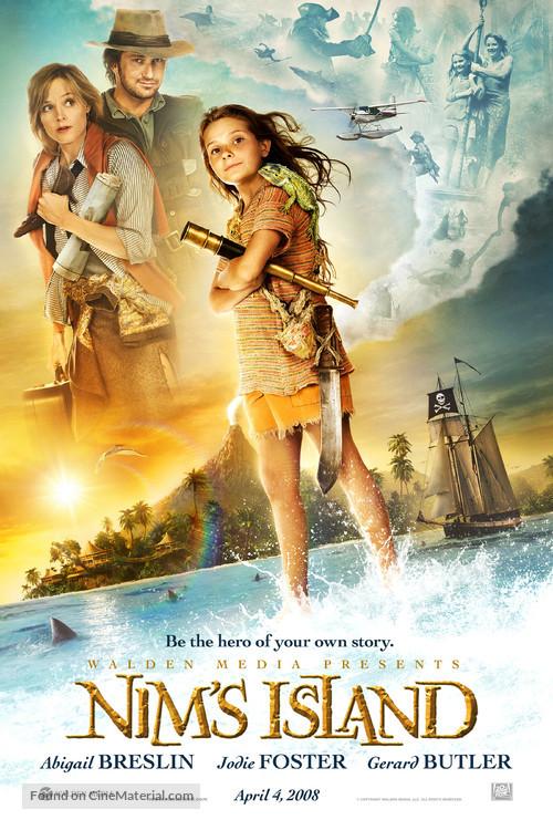 Nim's Island - Movie Poster