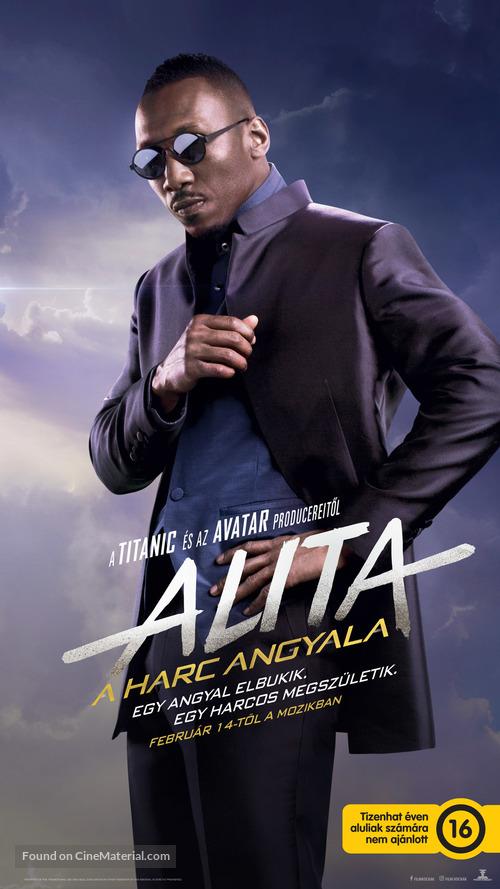 Alita: Battle Angel - Hungarian Movie Poster