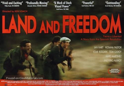Land and Freedom - British Movie Poster