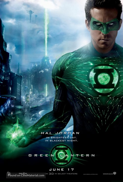 Green Lantern - Movie Poster