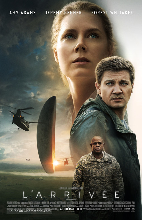 Arrival - Canadian Movie Poster