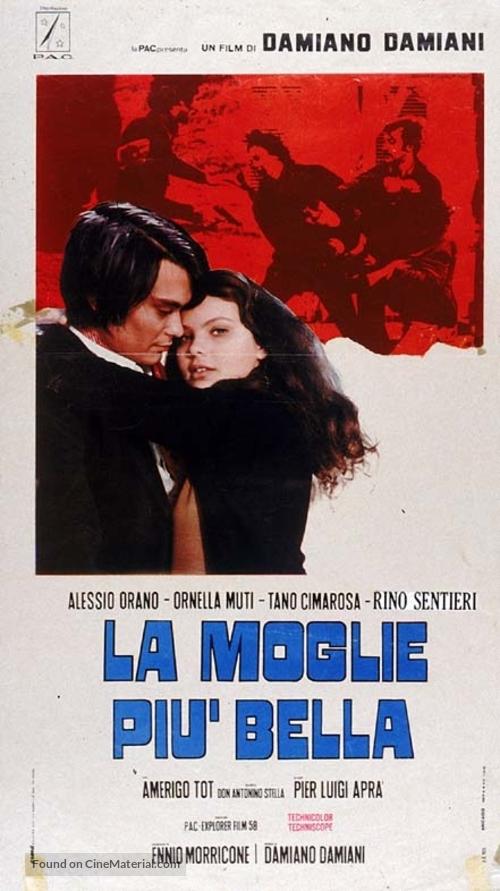 La moglie più bella - Italian Movie Poster