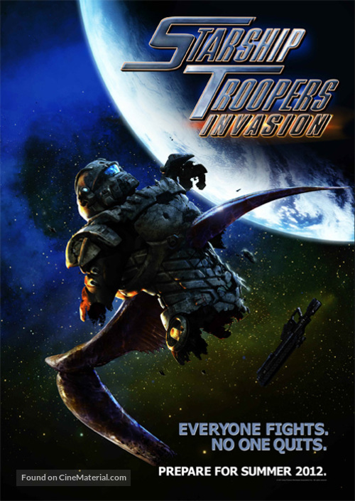 Starship Troopers: Invasion - Movie Poster