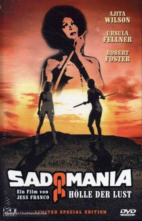 Sadomania - Hölle der Lust - German DVD cover