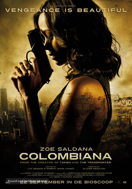Colombiana - Dutch Movie Poster