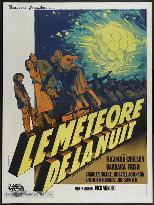 It Came from Outer Space - French Movie Poster
