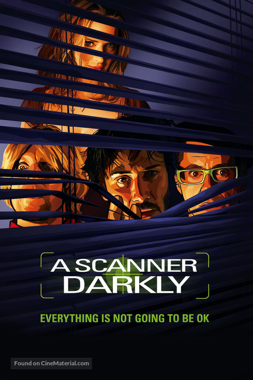 A Scanner Darkly - DVD cover