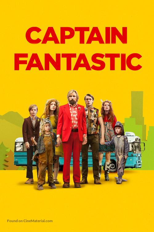 Captain Fantastic - British Movie Cover