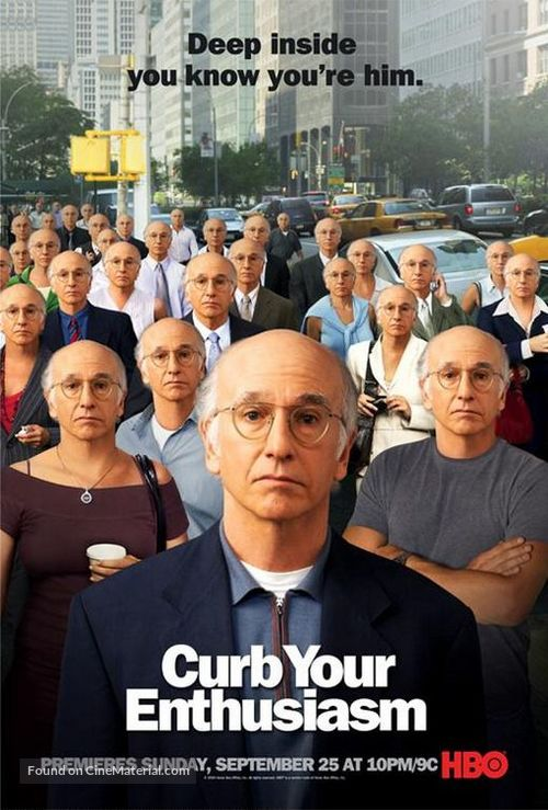 """Curb Your Enthusiasm"" - Movie Poster"