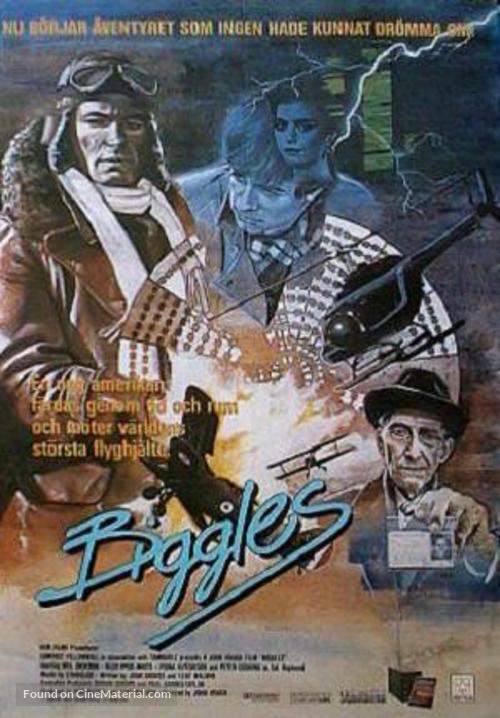 Biggles - Swedish Movie Poster