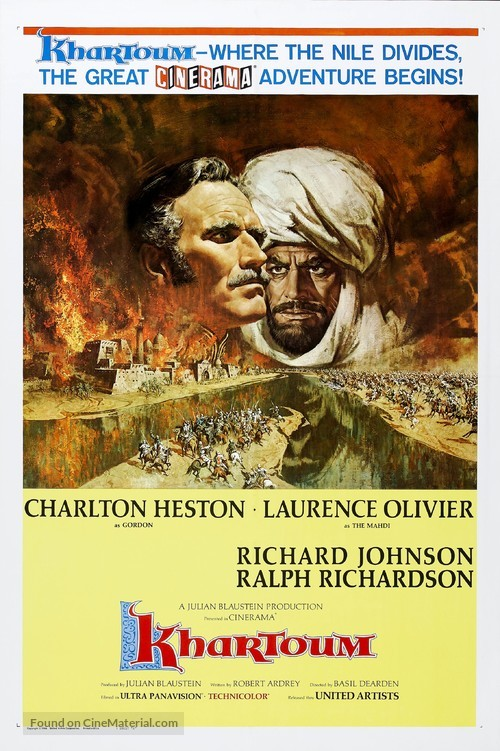 Khartoum - Movie Poster