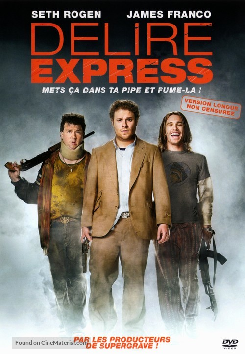 Pineapple Express - French Movie Cover