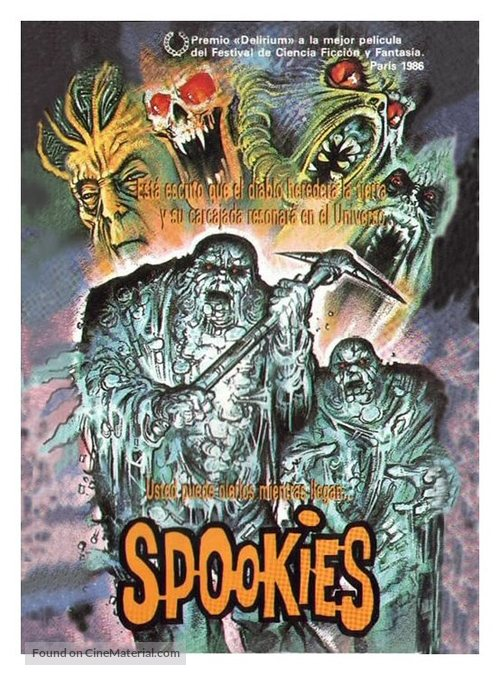 Spookies - British Movie Cover